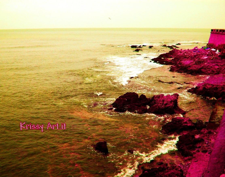 Alghero - riva con torre